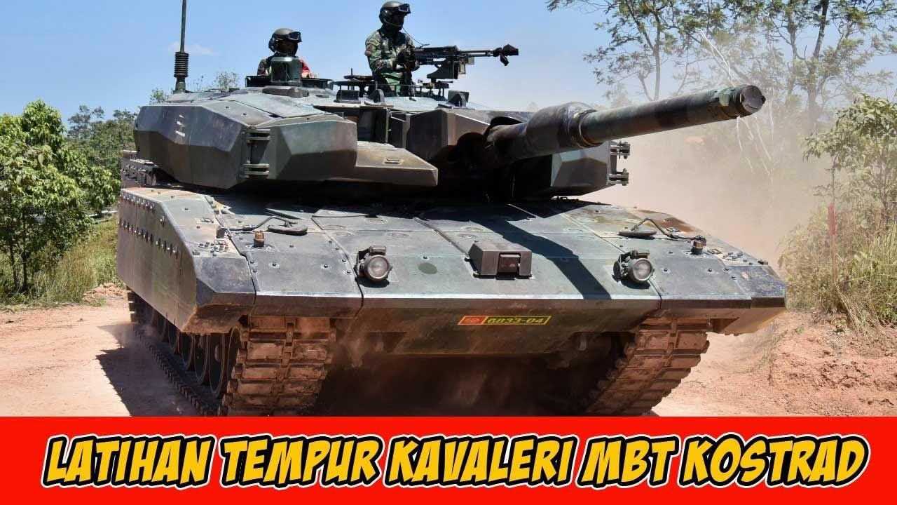 Tetap Siaga Batalyon Kavaleri Mbt Kostrad Laksanakan Latihan Siap Tempur Latihan Pertempuran Militer