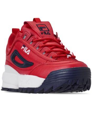 Fila Boys' Disruptor Ii Premium Casual Athletic Sneakers