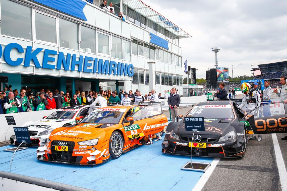 Sporting regulations | Parc Fermé | DTM.com // After having completed the first timed qualifying lap, the vehicles are subjected to the Parc-Fermé regulations.