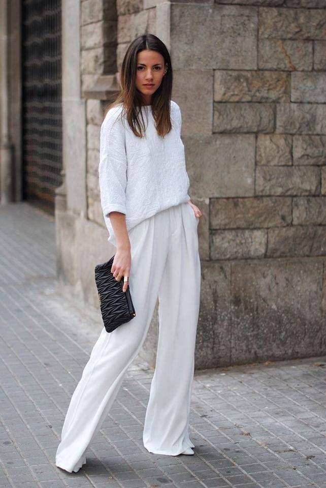 #white #bright #chic