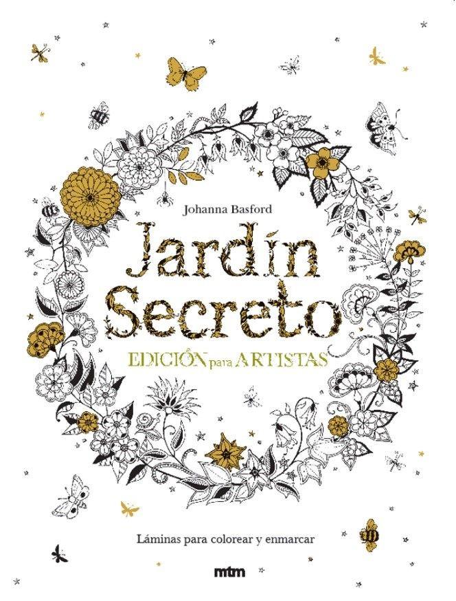 Arte-terapia: Jardín secreto, edición para artistas   Letras_ ...