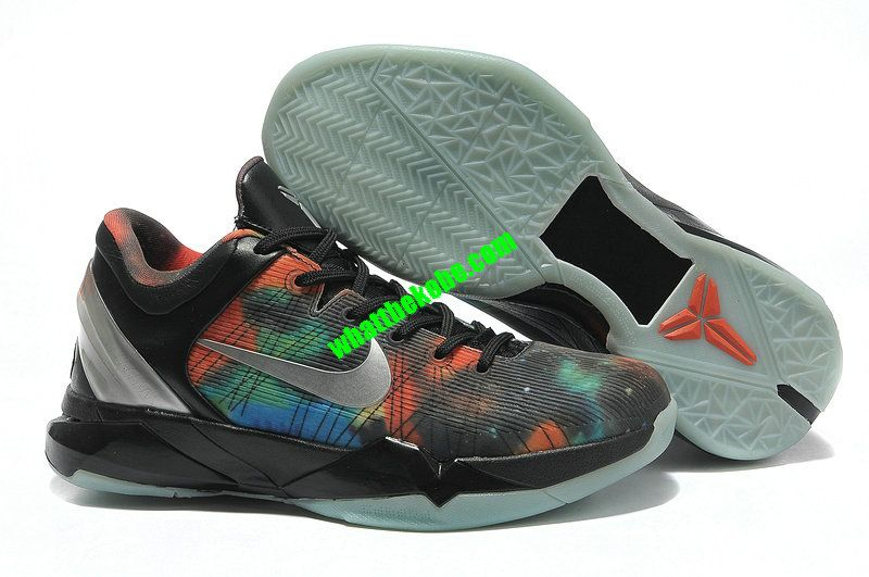 meet 755bc feabf Nike Zoom Kobe 7 Womens All Star Galaxy Galaxy Black Metallic