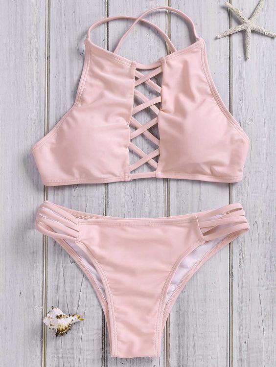 12 Bikinis Lace Up Que Mi Puerquecito Quiere Usar Bikinis