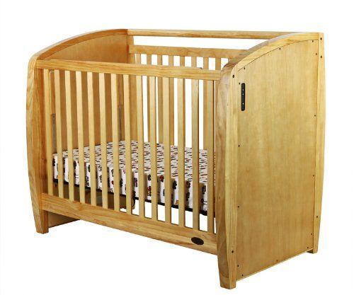 Dream On Me Electronic Wonder Crib Natural Cribs Dream On Me Modern Crib