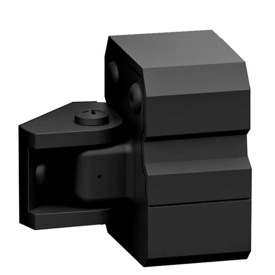 Best Freedom 4 Pack Black Aluminum Handrail Brackets 73017728 400 x 300
