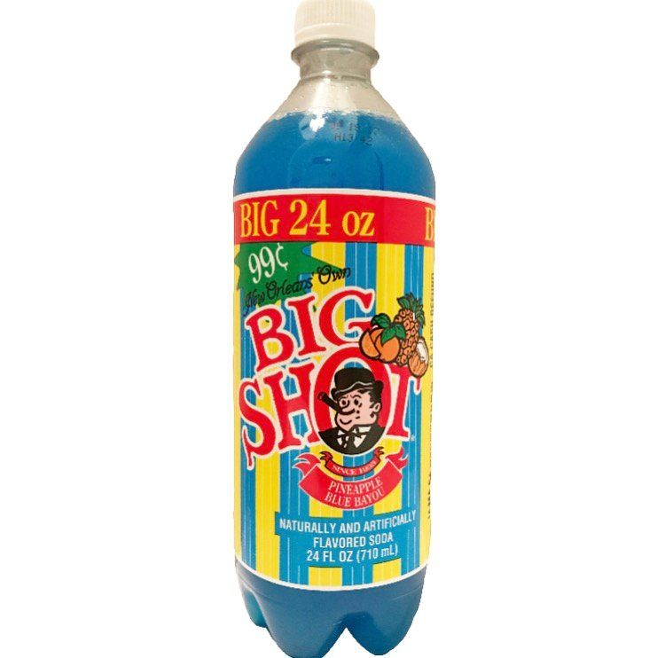 Recognized Throughout The Big Easy As New Orleans Own Big Shot Represents A Classic And Consistently Delicious Soft Drink Big Shot Big Easy Blue Bayou