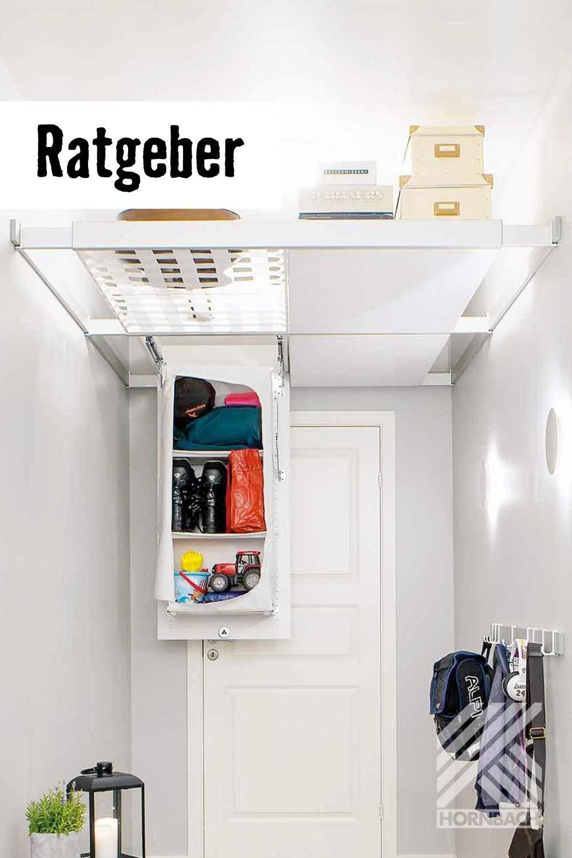 Stauraum Unter Der Decke Schaffen Hornbach In 2020 Stauraum Ideen Kleine Wohnung Kleine Wohnung Viel Stauraum