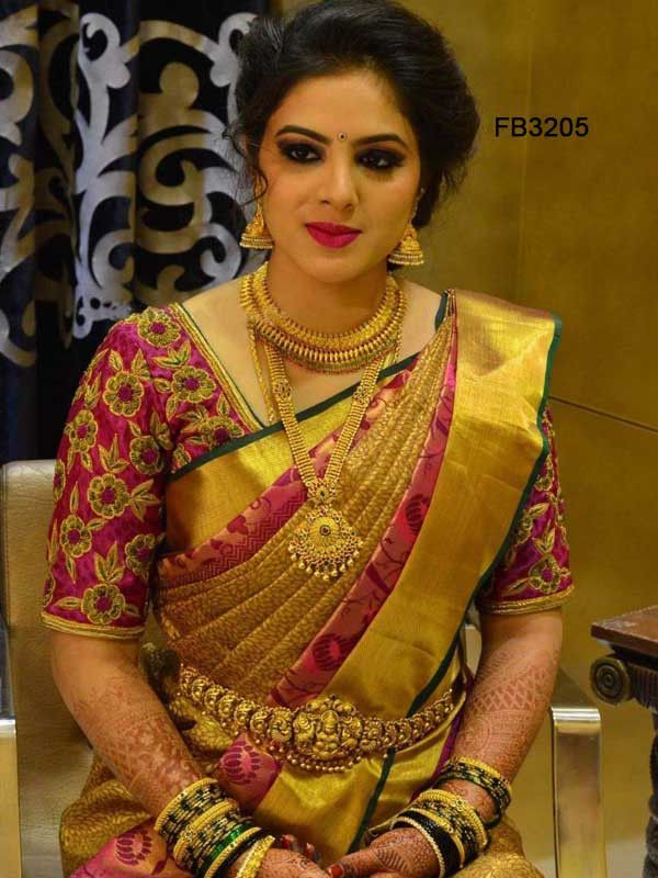 Photo of Traditional Pink Colored Soft Silk Saree – FB3205-Z