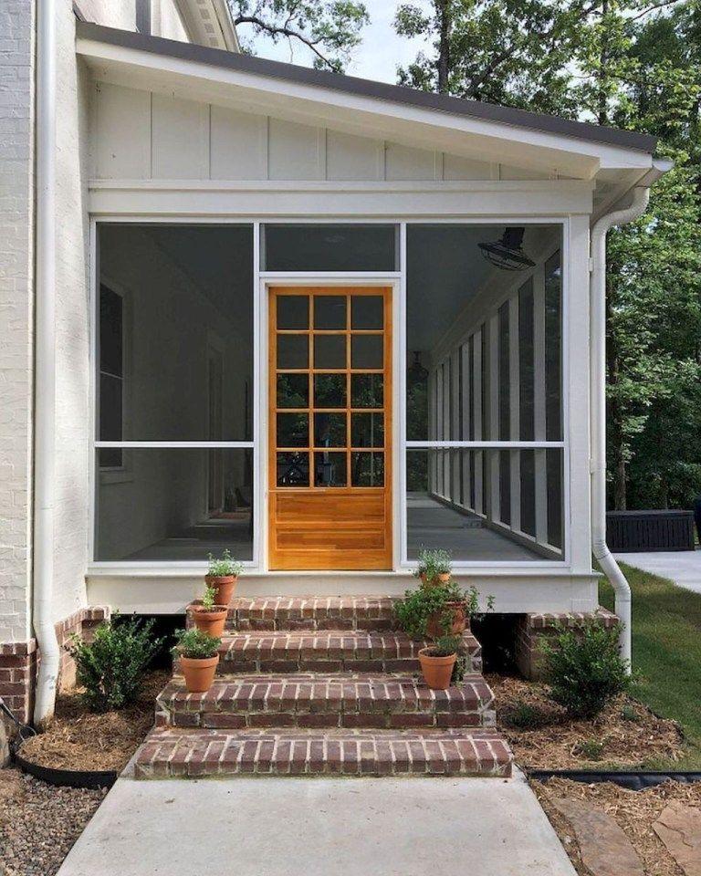 Modern Rustic Farmhouse Porch Decor Ideas 37 Porch