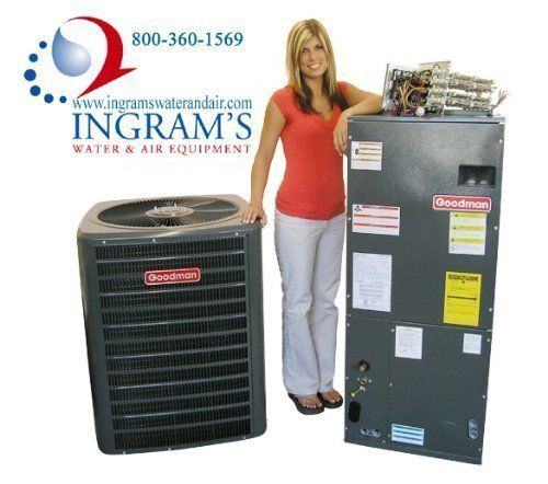 Goodman R410a 13 Seer Complete Split System Ac Only 3 Ton