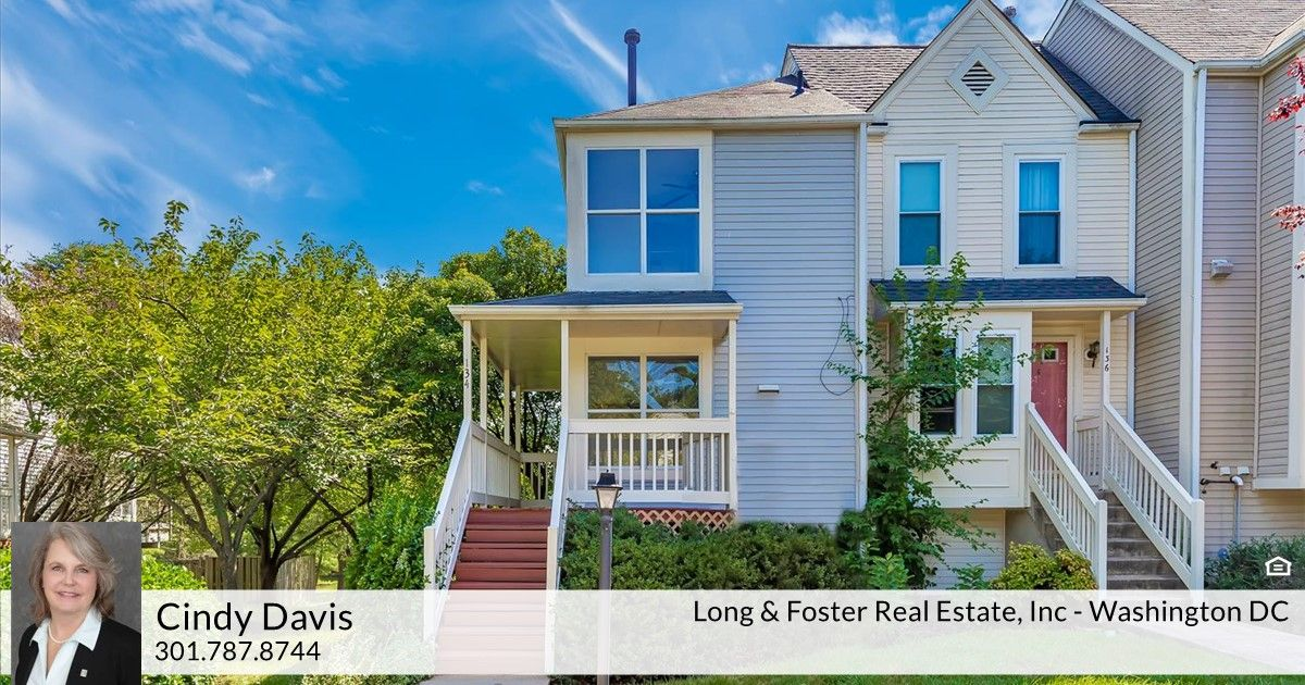 Cindy Davis Of Long Foster Real Estate Just Listed 134 Woodridge Place Laurel Md 20724 Open House Sunday July 21st From 2pm Gas Fireplace New Carpet Places
