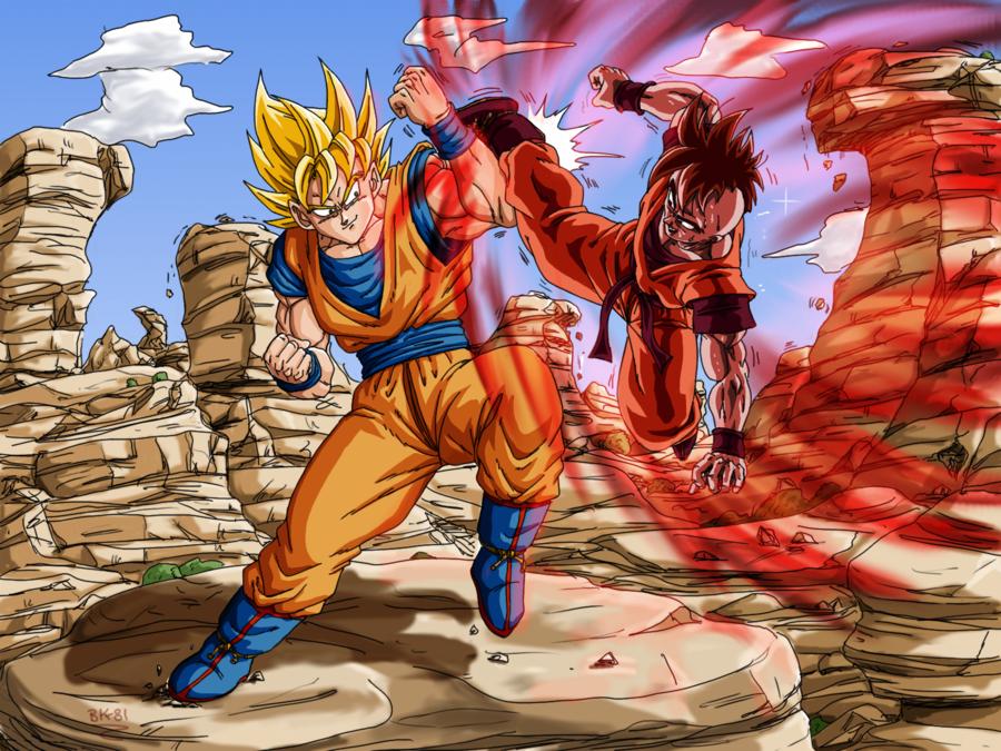 Goku Uub Training Dbm By Bk 81 Dragon Ball Art Anime Dragon Ball Dragon Ball Gt