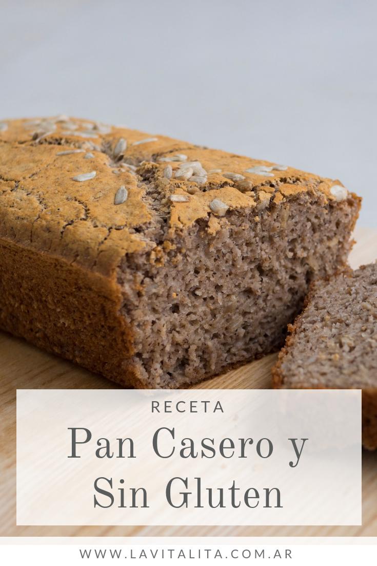 Cómo Hacer Pan Casero Fácil Rápido Y Sin Gluten Pan Casero Pan Sin Gluten Recetas Como Hacer Pan Casero