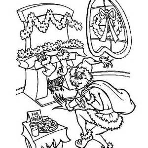 grinch christmas coloring pages sketch template | Grinch ...