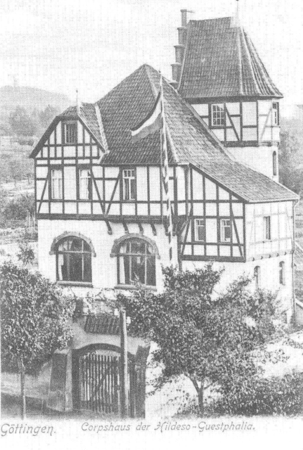 G ttingen corpshaus deutschland historisch alte bilder for Moderne villen deutschland