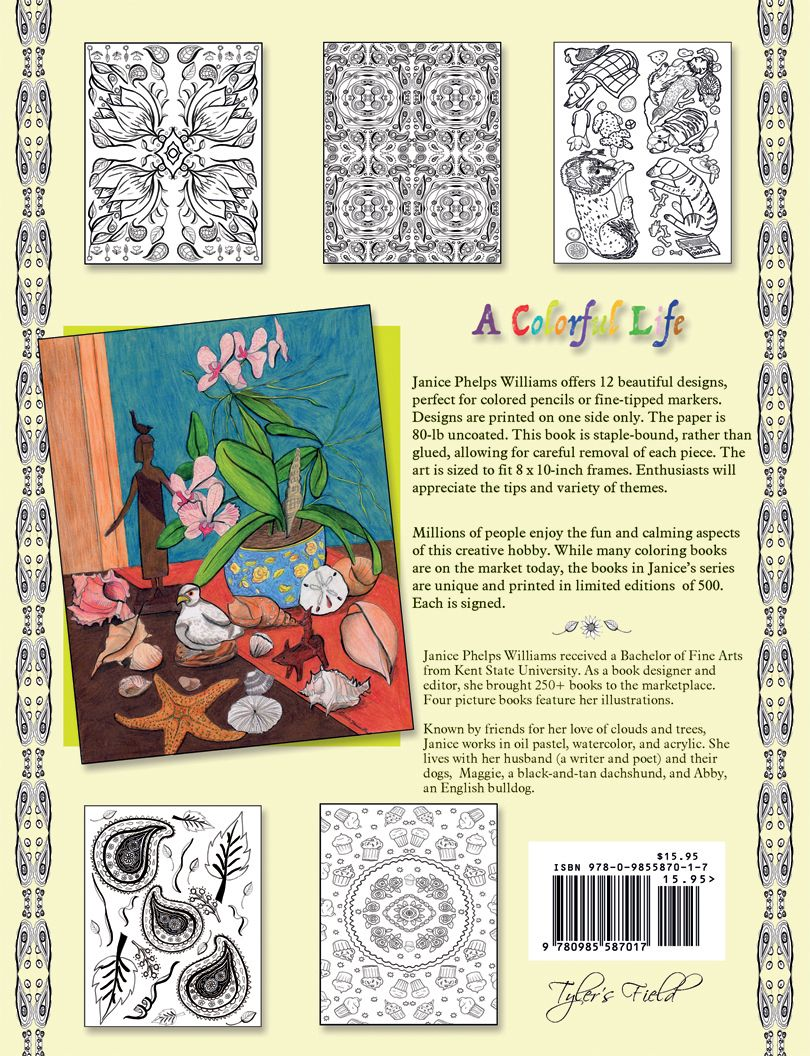 Co coloring book printer paper - 1000 Images About A Colorful Life Coloring Book Series On Pinterest Colorful Artists And Book