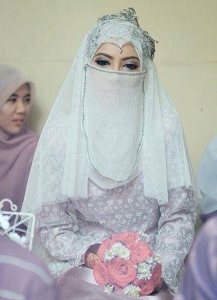 Pin by Malbellyn Islam on Burka ;-) Nikab | Pinterest | Hijab bride ...