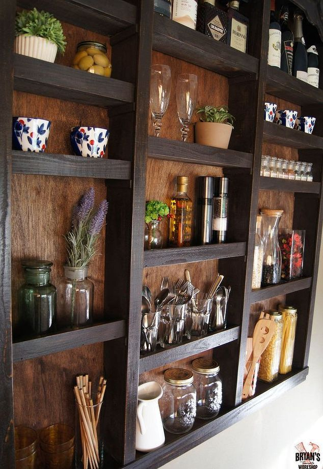 Kitchen Wall Decor Ideas Diy she nails clear suction cups to the bottom of her wall. the reason