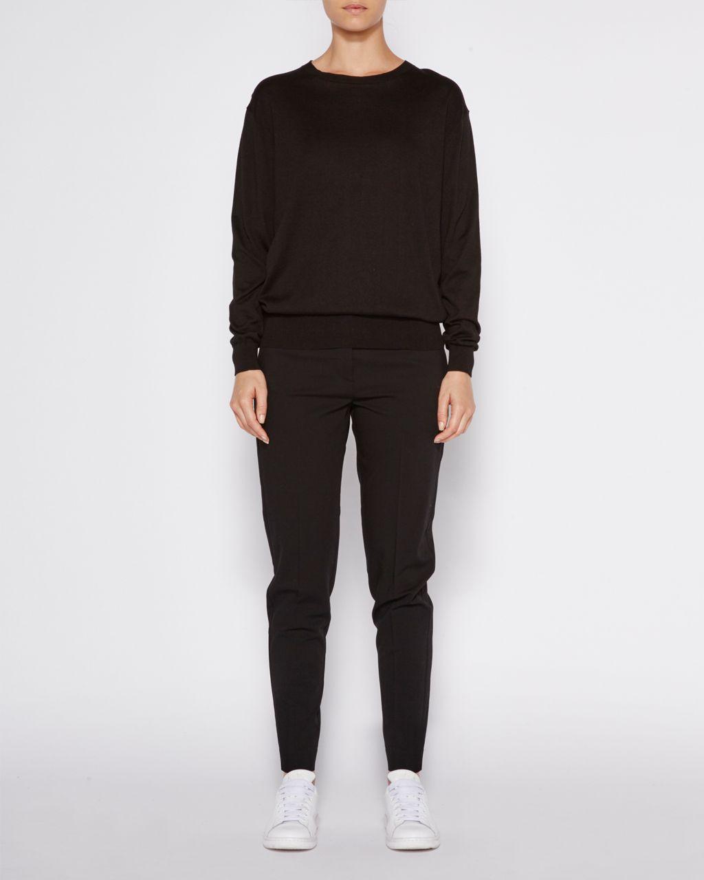 Jac+ Jack | Cotton crew neck sweater.