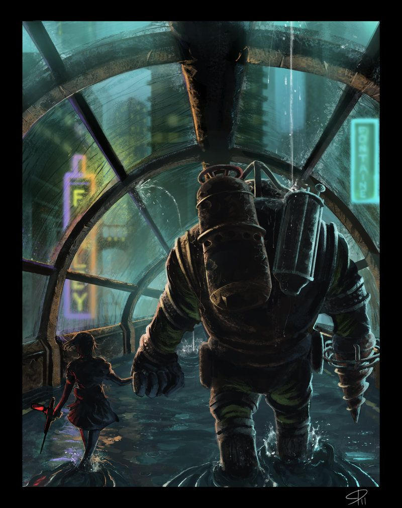 A Bond Deeper Than The Ocean. Bioshock 2 my favorite game!!
