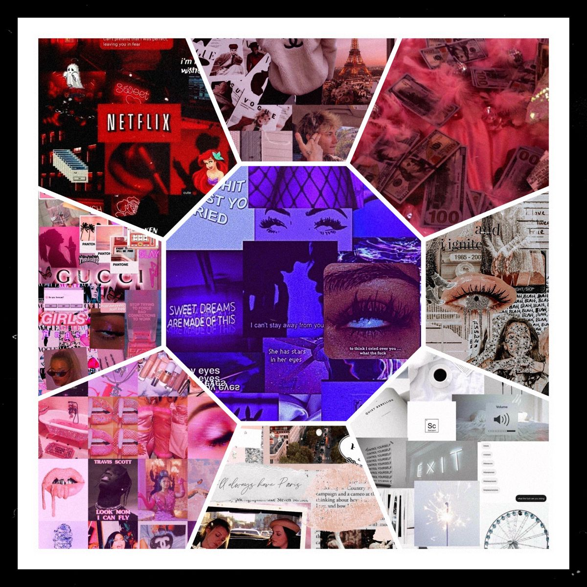Collage Wallpaper Wallpaper Aesthetic Pictures Aesthetic Wallpapers