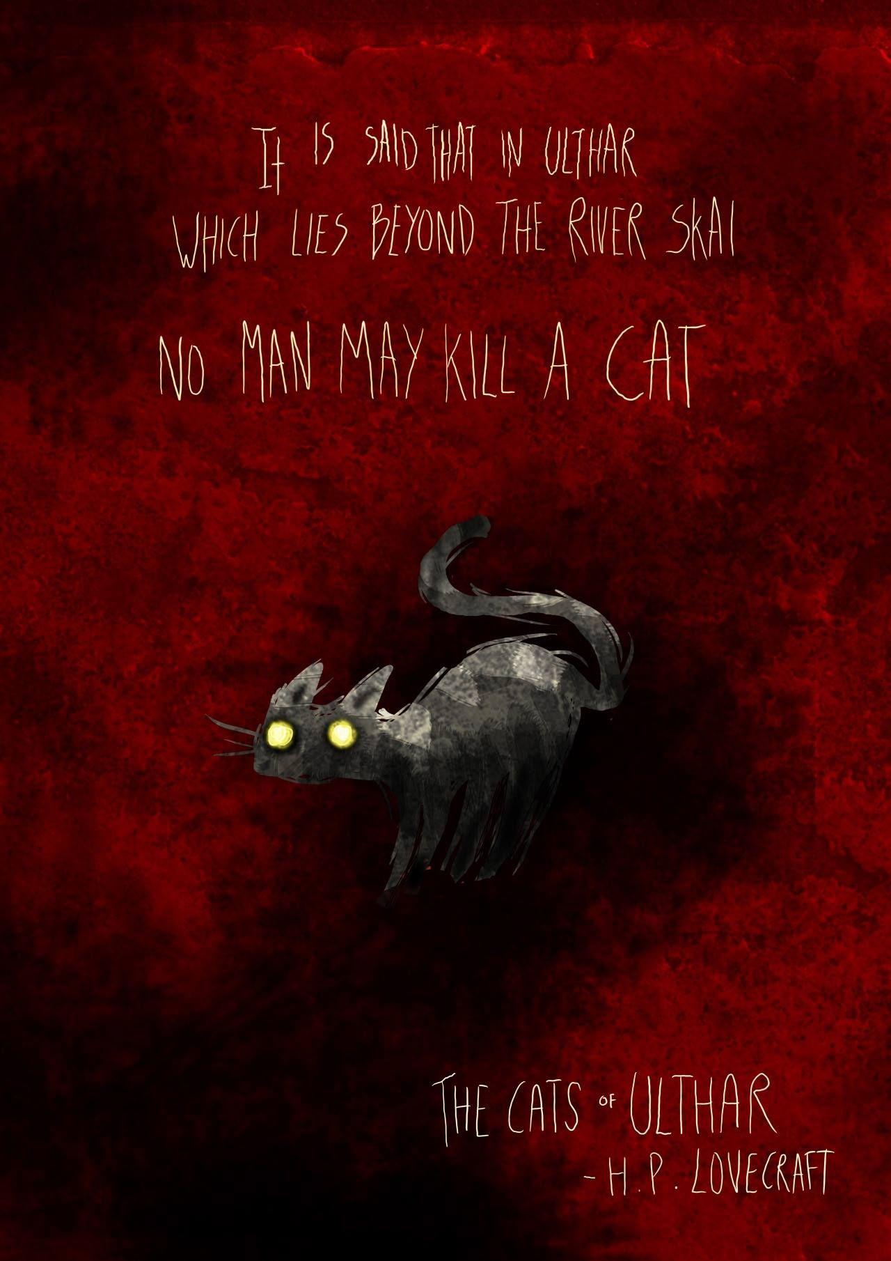 Cats Of Ulthar Lovecraft Cthulhu Cthulhu Mythos Lovecraftian Horror