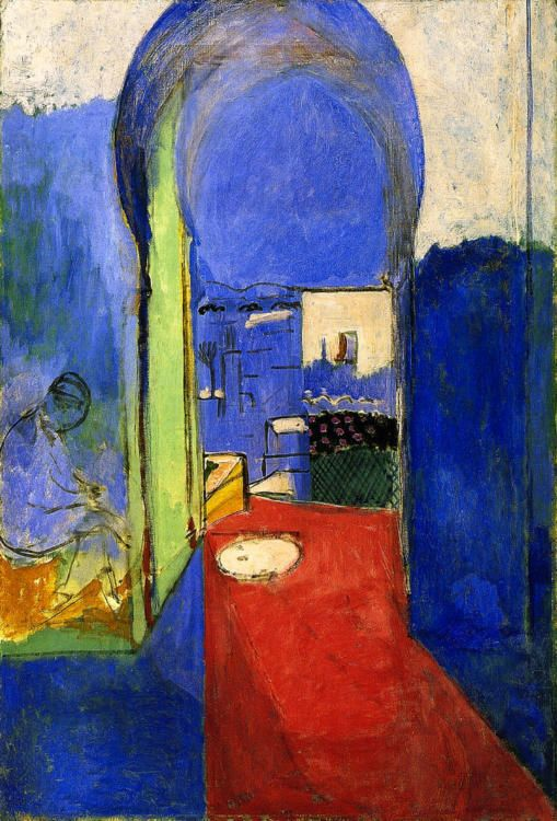 Henri Matisse Entrance to the Casbah 30x20 Wall Art Canvas Print Unframed #FineArt