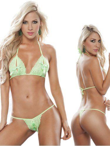 Bikini girls Crothless