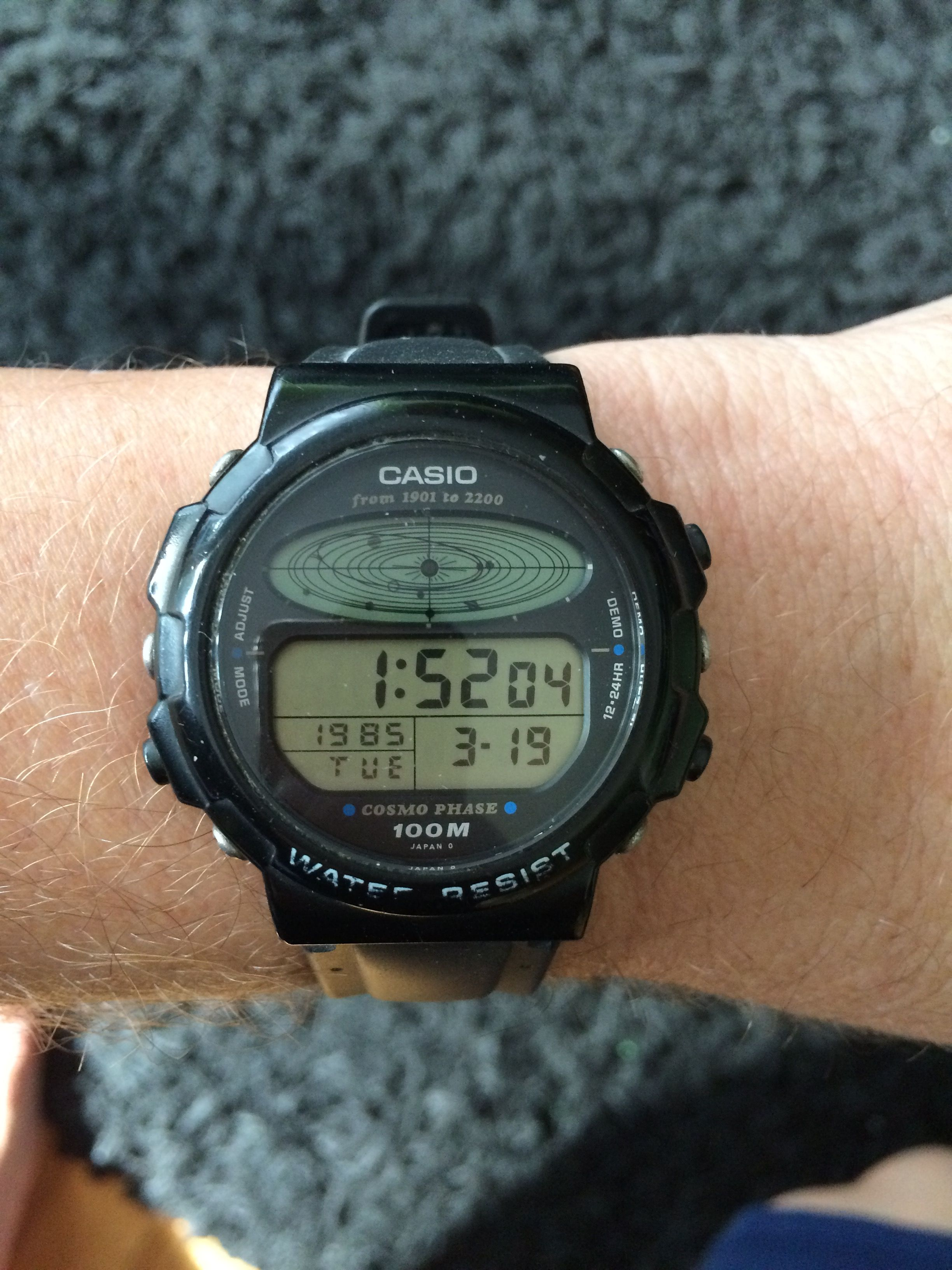 f91f804c0 Casio CGW-50 Cosmo Phase (1985) | Vintage Watches in 2019 | Casio ...