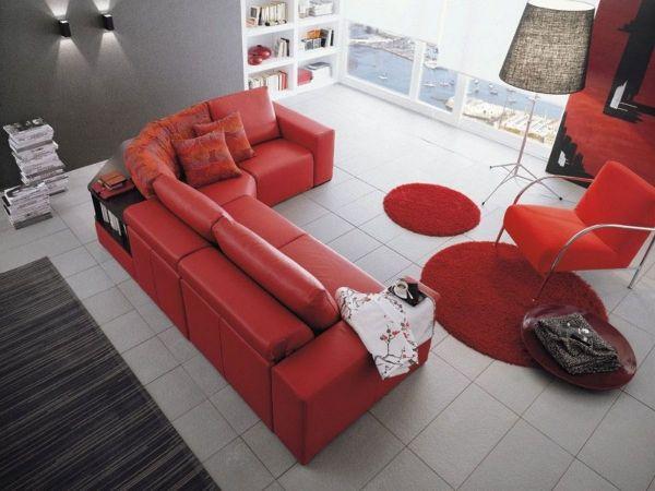 Modulare Sofa Designs Mit Integrierten Regalen Im Modernen   Barock Mobel  Modern Ideen