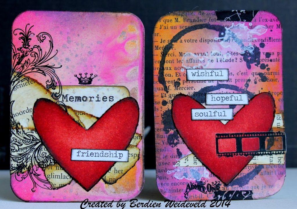 Scrap from Bemmel: Scrap-marathon/Little cards 4
