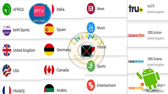 LiveIPTVFreeV_2.1.3 APK For IPTV FREE TV Channels On