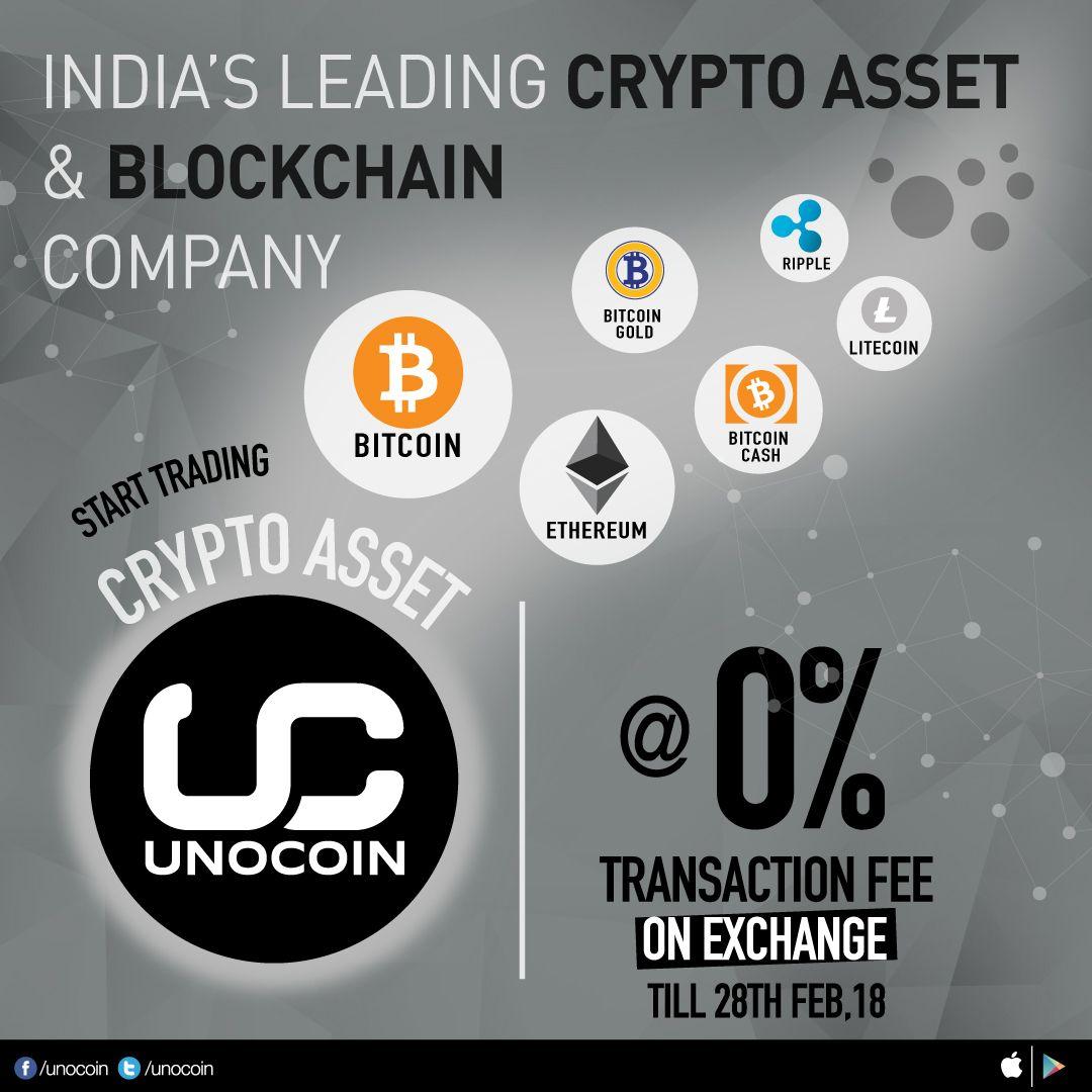 Unocoin INDIA's LEADING Cryptoassets & Blockchain