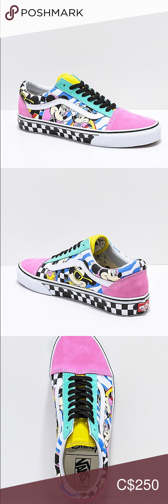 Vans Old Skool (Disney) 80's Mickey Designer: Disney