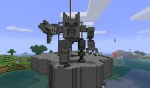 Minecraft Creeper Cyborg Battle Mech