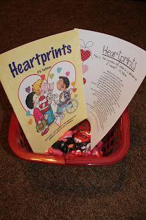 Apples 4 Bookworms: Spreading Heartprints!
