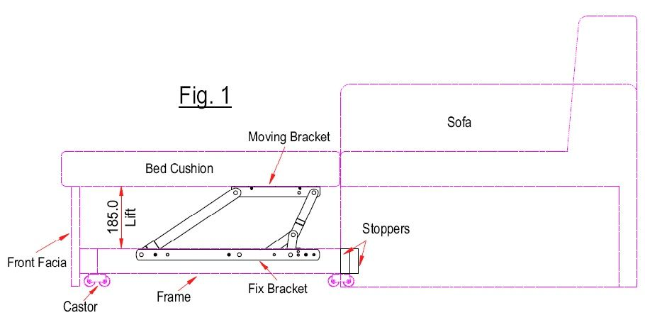 Pro Lift Sofa Bed Ings With