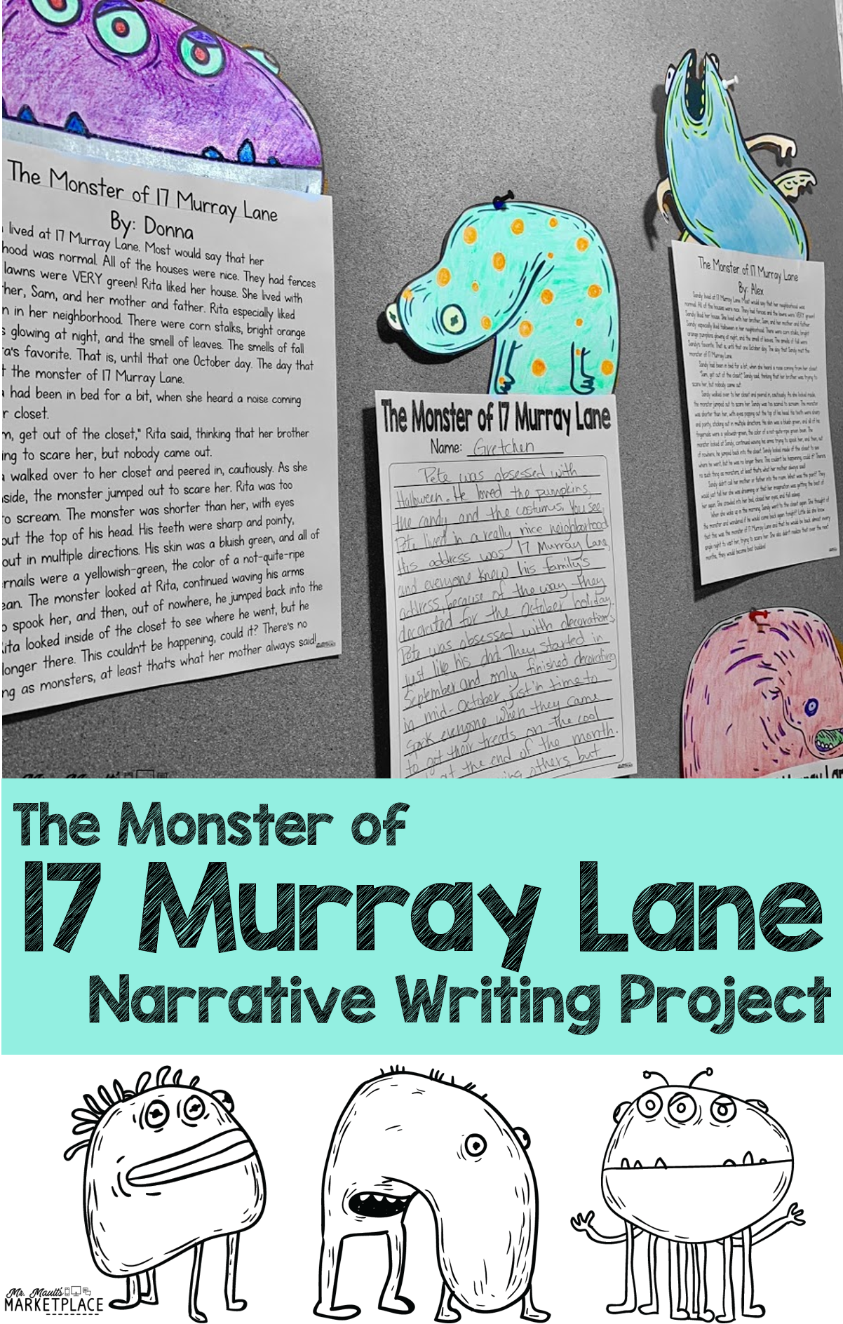 Halloween Writing Activity A Narrative Writing Project