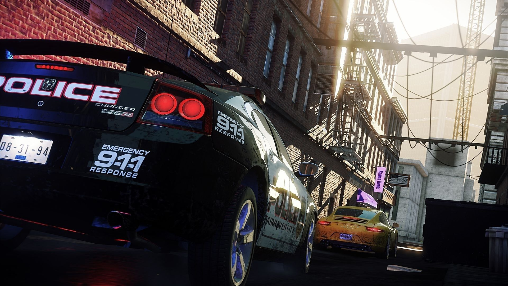 1920x1080 HD Widescreen Need For Speed Most Wanted 2012