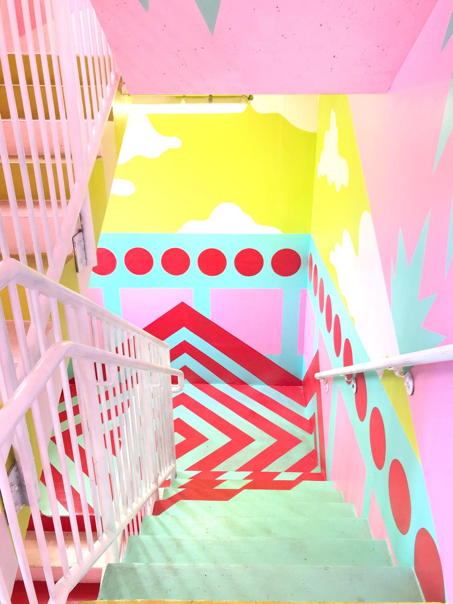 Miami Museum of Ice Cream - Tour & Video | Diseños en paredes ...