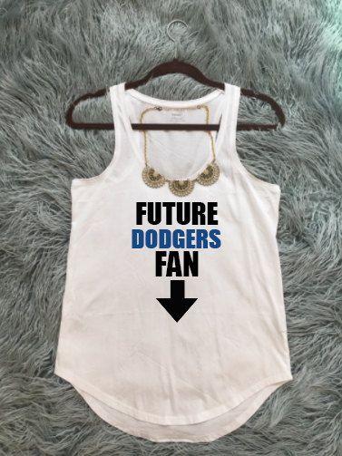 190caef52feac Future Dodgers Fan, Maternity Dodgers Baseball T-Shirt, Maternity LA  Dodgers Shirt, Los Angeles Dodgers T-Shirt, Los Doyers Shirt, New Baby by  KyCaliDesign ...