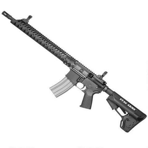 stag arms ar 15 semi automatic rifle 5 56 nato left hand 16 barrel rh pinterest com Kriss Vector SBR 45 Cal SMG
