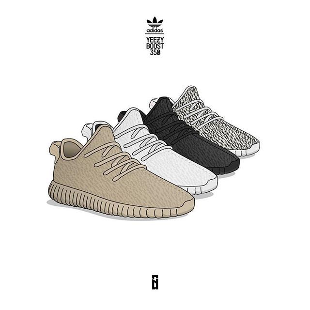 2016 Top Quality Wholesale Kanye Milan West Yeezy Boost 350 Classic Black  350 Men\u0027s Fashion Trainers Shoes With Box Sports Shoes