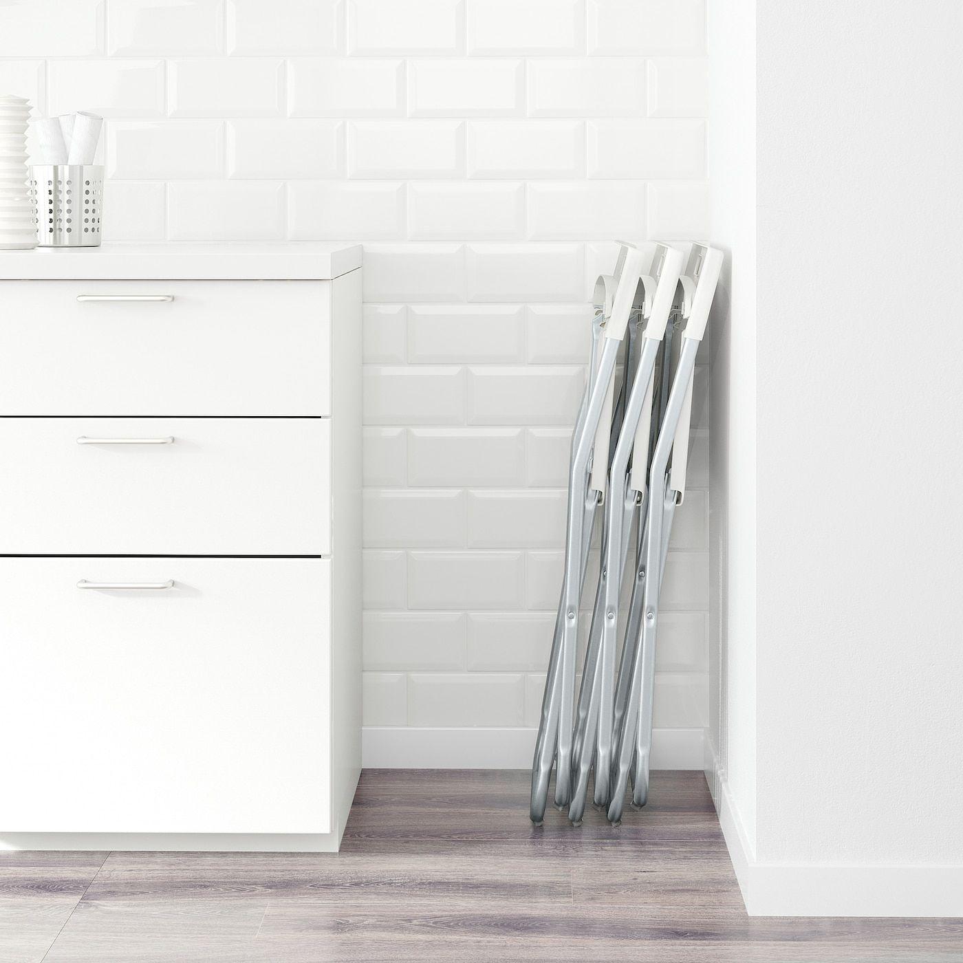 Gunde Folding Chair White In 2020 Folding Chair Cheap Folding