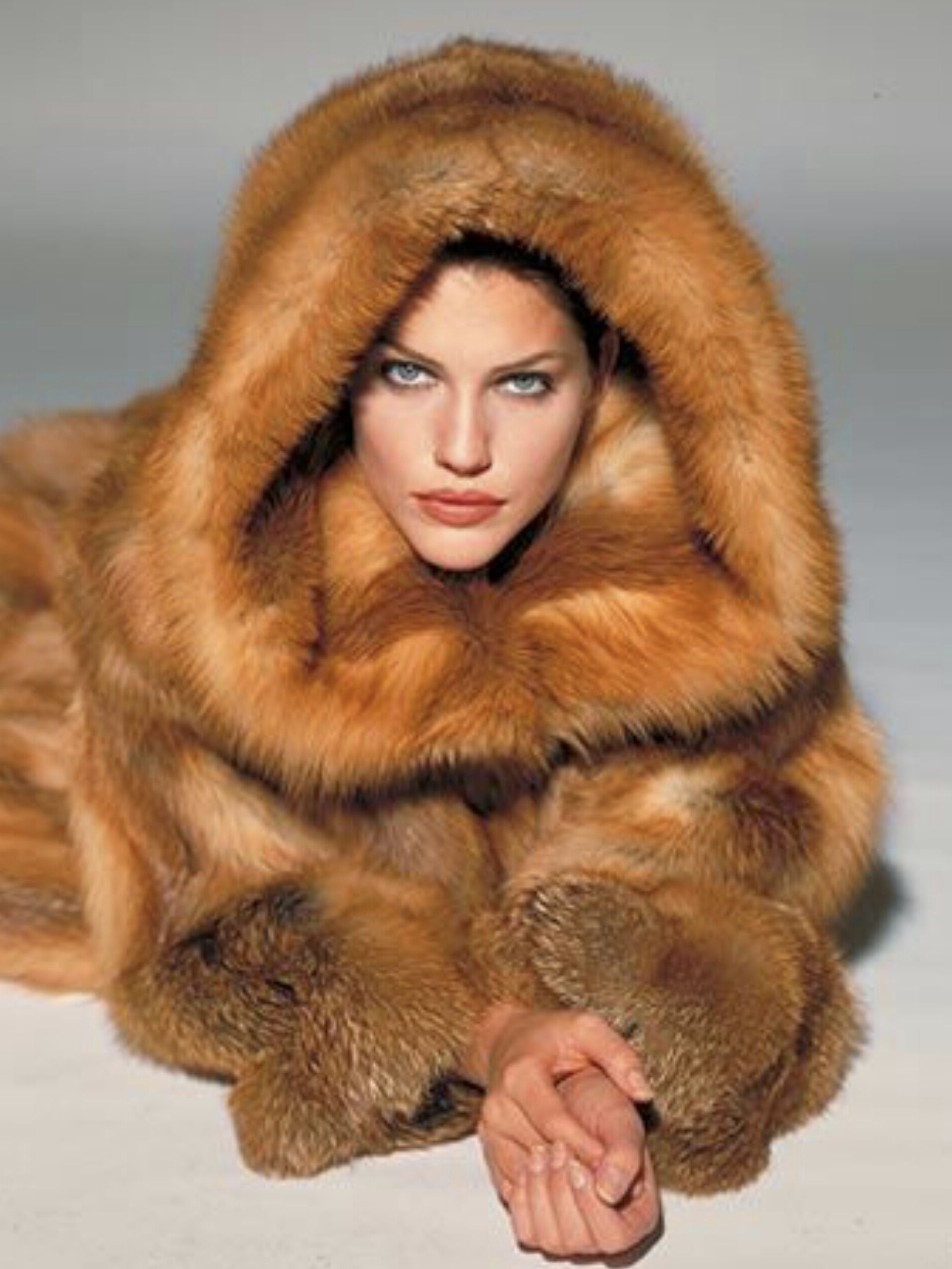 28e53d30251 red fur | Fur,fur | Fur, Fur fashion, Coat