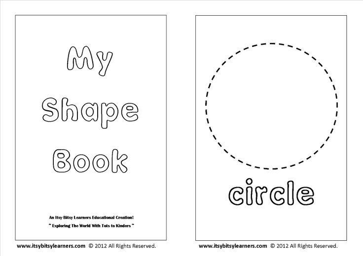 Preschool Shapes Coloring Pages Printable 01 lessons Shape