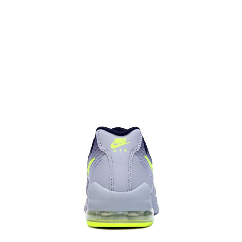 506c6cda015a Nike Kids  Air Max Invigor Running Shoe Grade School Shoes (Grey Black Volt)  - 3.5 M