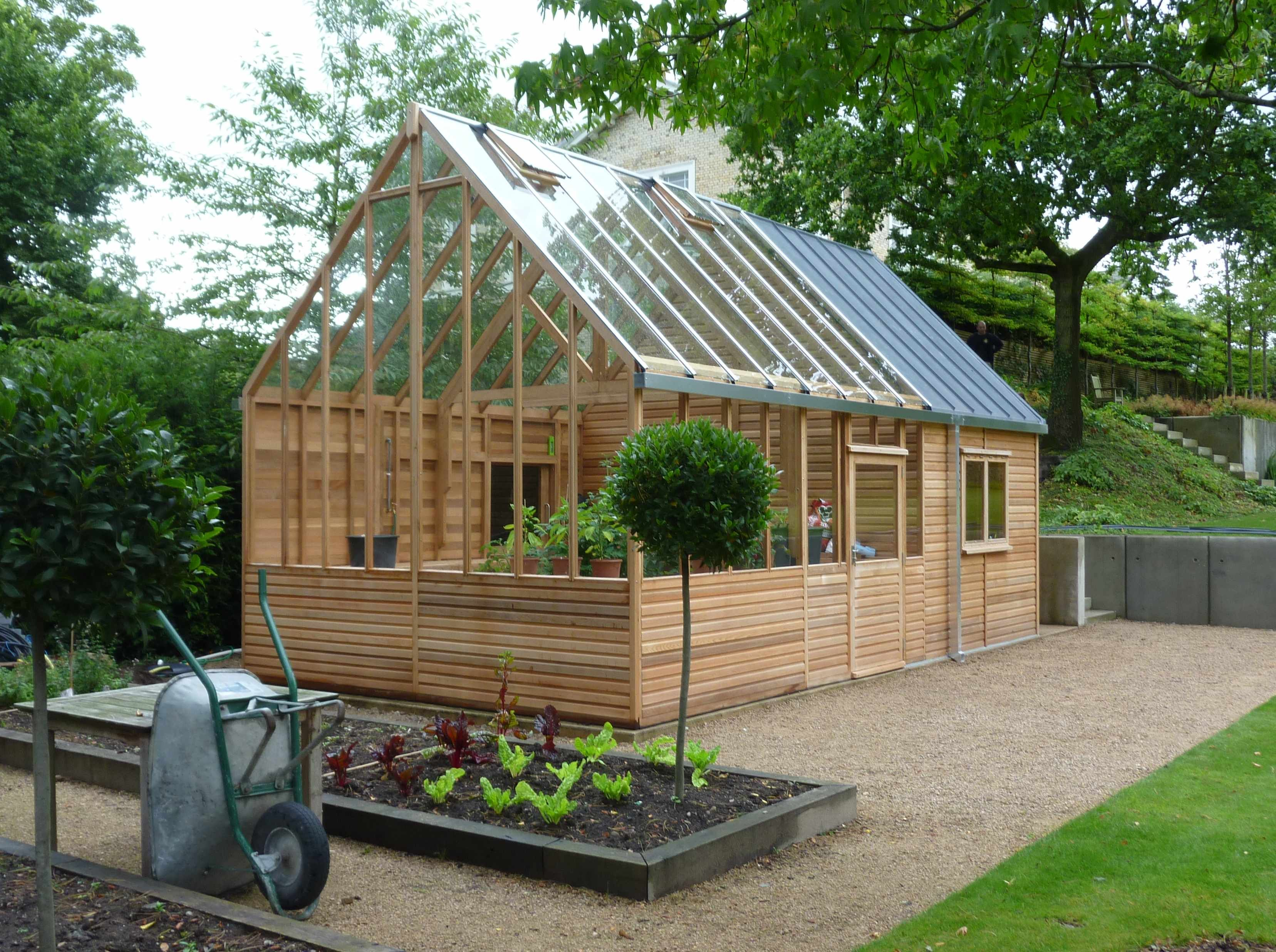 greenhouses at bramshall staffordshire england woodpecker joinery uk ltd - Garden Sheds With Greenhouse