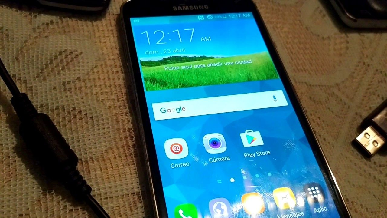 Hello SupportI have here a Galaxy S5 SM-G900P for Unlock