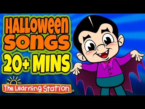 halloween songs for children ten little monsters kids songs by the learning station - Halloween Youtube Kids